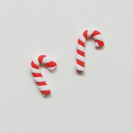 クリスマス☆しましまステッキ(2個入)※メール便対応