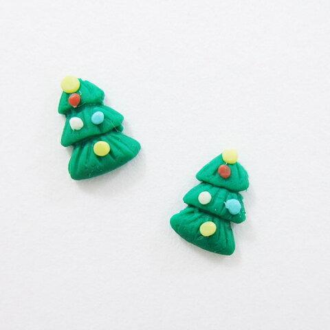 クリスマス☆ボンボンツリー(2個入)※メール便対応