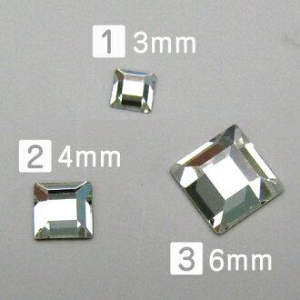 Square Swarovski cloth # 2400 # Square Flat Back Crystal bigs tone Swarovski special cut