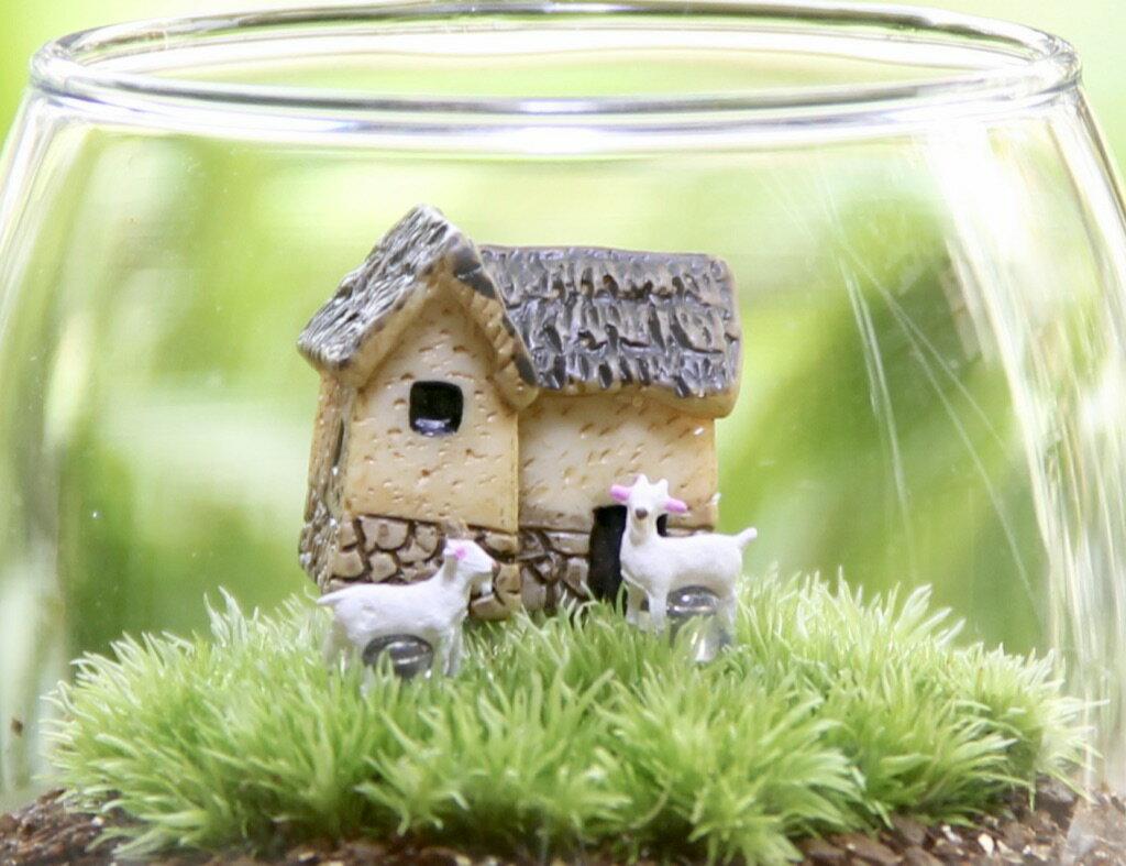 苔むすび『家とヤギおちょこけ』