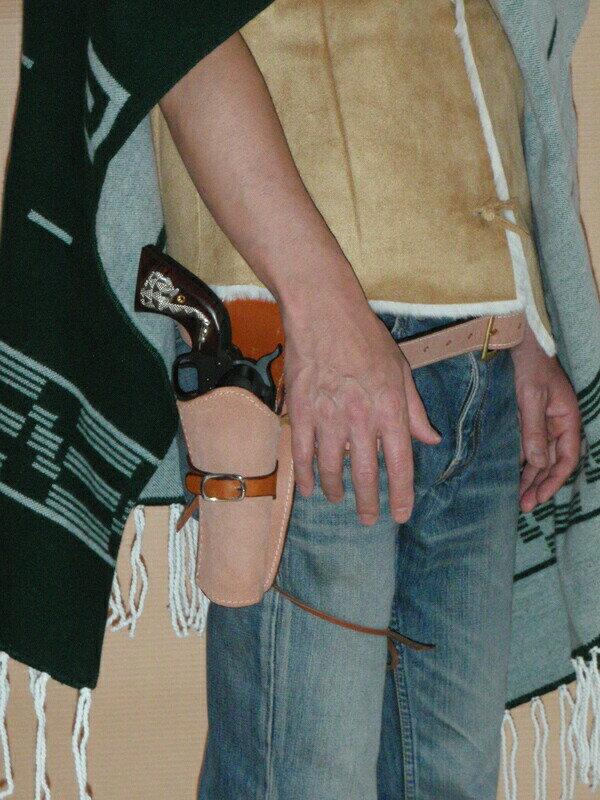 cawboyholster『ウエスタンガンベルト(38インチ)』