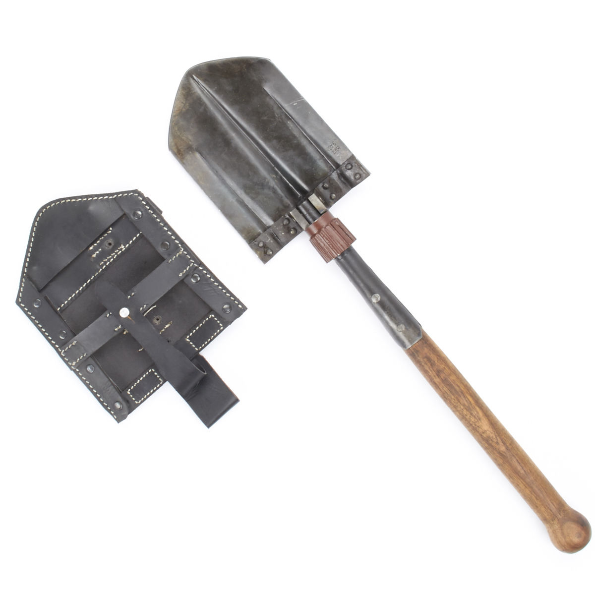 east german folding shovel