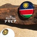 ナミビア国旗ガラスピンズ