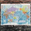 世界地図A2「世界の言葉ありがとう」【東京カートグラフィック】