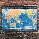 世界地図A2(メルカトル図法)【東京カートグラフィック】