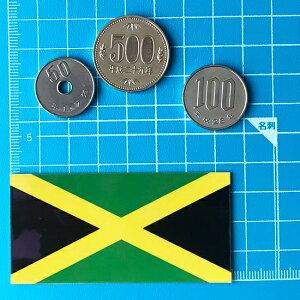 世界の国旗シール・ジャマイカ