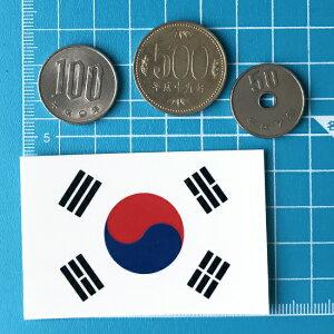 世界国旗デカール・韓国