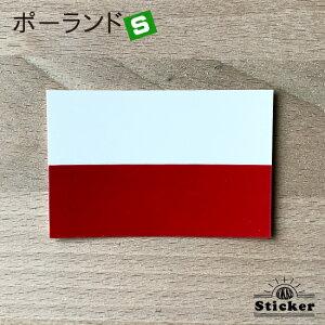 世界国旗ステッカー・ポーランド