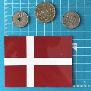 デンマークの国旗シール