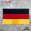 世界国旗ステッカー・ドイツ国旗