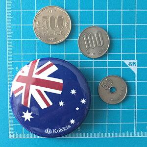 オーストラリア国旗デザインのカンバッチ