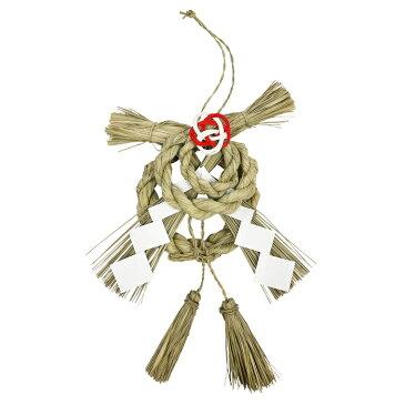【楽天スーパーSALE】【スピリチュアル 研究家 はるひなた氏がプロデュース】縄で厄を除け、飾りで福の呼び込む 開運 しめ飾り お正月飾り 日本製 しめ飾り 玄関ドア 飾り 国産