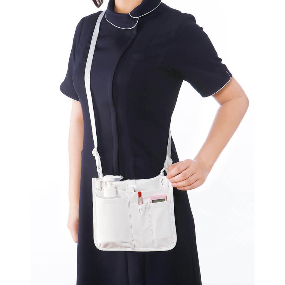 13428 ウエストオーガナイザー(合皮)【ナース 小物 ナースグッズ 看護師 医療】
