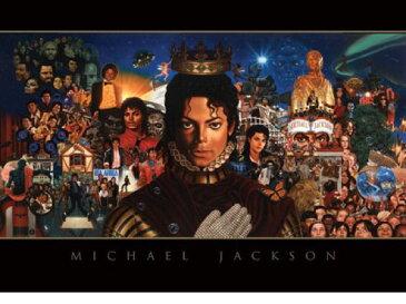 ポストカード マイケルジャクソンMichael Jackson(Montage)