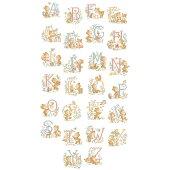 クロスステッチ図案LegrandABC«Oursons»(くまアルファベット)