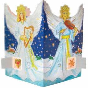【ドイツ輸入】アドベントクリスマスカード天使