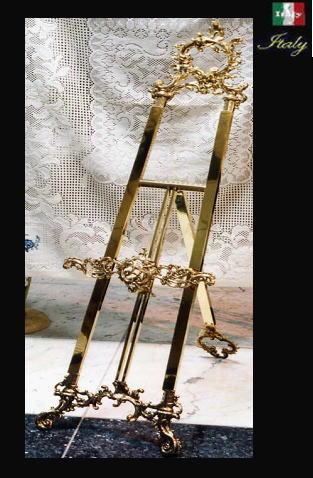 【イタリア製】イーゼル メニュースタンドH128 10P27May16:癒しのヴェルサイユ宮殿