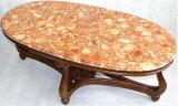 【ロココ調イタリア家具】センターテーブル 大理石ローテーブル
