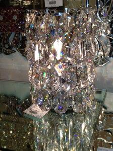 テーブルランプ 高級クリスタルクリアーガラス 10P27May16