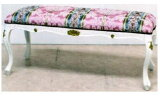 イタリア家具ロココ調 アームなしベンチ アーム付きベンチソファー,ベンチ,ロングスツール,家具,アンティーク