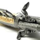 スペイン製レプリカピストル 3銃身タイプ29cm アイボリー...