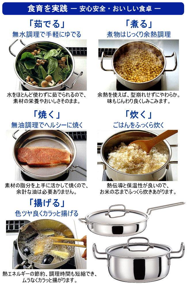 GEO PRODUCT シリーズ 両手鍋 20cm 2.7L