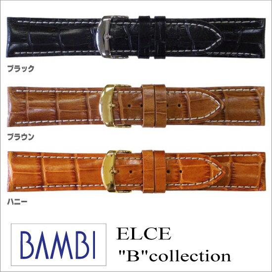 腕時計用アクセサリー, 腕時計用ベルト・バンド  18.20.22.24mm BAMBI -B