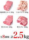 焼肉セット 熟成肉300g 焼肉用特上ロース300g 特上カルビ300g ハラミ300g 上カルビ300g マルチョウ300g 特上タン300g 焼肉用黒豚バラ400g 合計2.5kg 鹿児島 焼肉 盛り合わせ 和牛 熟成肉 黒毛和牛 ホルモン 送料無料(kagoshimabeef) 3