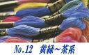 【DMC】刺しゅう糸#25番No.12 【C3-8】
