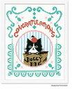 【オリムパスOLYMPUS】刺しゅうキット  Shinzi Katoh No.7499 Chaton Chaton Muzu (シャトン シャトン ムズ) 【取寄せ品】【C3-7】 U-OK M-NG 1