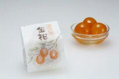 5000円以上で送料無料!宮崎産の金柑を上質な桃山生地で包み込んだ焼き菓子「金柑(1個入り)」