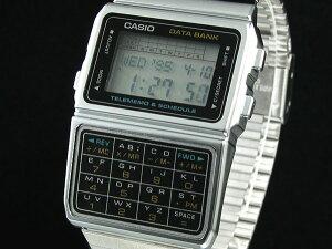 データバンク レトロ&レアな海外モデルCASIO カシオ データバンクシルバー DBC610A-1AZ