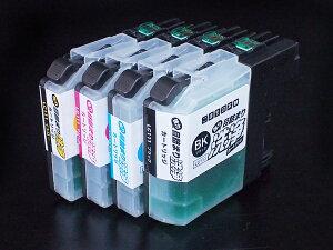 ブラザー LC111専用 プリンター目詰まり洗浄カートリッジ 4色用セット 【メール便送料無料】