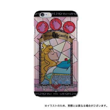 ディズニー ステンドグラス柄 iPhone6s Plus / iPhone6Plus対応シェルジャケット オーロラ姫