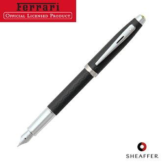 SHEAFFER捨費爾法拉利100鋼筆F細字輪胎步子NT F9506PN[ss]
