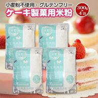 豊橋こめこ使用★米粉のケーキ・製菓用米粉300g★小麦粉フリー、グルテンフリー!