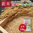 【令和2年度・愛知県豊橋産のお米産・送料無料!(一部地域を除く)】ミルキークイーン・10kg ・減農薬玄米 激安!