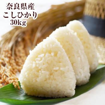 奈良県産コシヒカリ こしひかり 新米30kg 送料無料 令和 30kg 玄米 白米