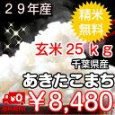 【29年産】千葉県産あきたこまち玄米25kg(10kg×2袋...