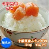 新米入荷!【令和1年産】無洗米ふさこがね 10kg(5kg×2)千葉県産 おいしい♪手間なし♪簡単♪※送料無料地域に除外があります※北海道・九州:+400円