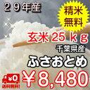 【30年産 新米入荷!】千葉県産 ふさおとめ玄米25kg(1...
