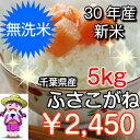 【30年産】無洗米 ふさこがね 5kgおいしい♪手間なし♪簡...