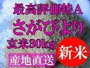 【30年産 新米 特A】【1等米限定】【佐賀から直送】さがび...