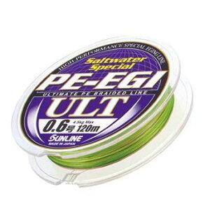 【メール便可】サンライン ソルトウォータースペシャル PEエギULT 0.6号-1号 180m巻【05P...