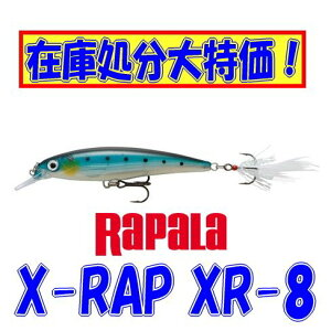 【在庫処分大特価!】【メール便可】ラパラX-RAP(エックスラップ)XR-8