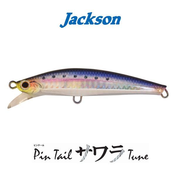 【メール便可】ジャクソンピンテールサワラチューン105mm/35g
