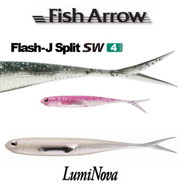 【メール便可】FishArrow(フィッシュアロー)フラッシュJスプリット4