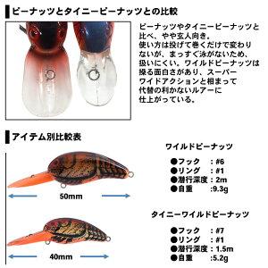 【メール便可】ダイワタイニーワイルドピーナッツ