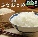 【1購入合計1個まで】【こめひこ米】千葉県産 ふさおとめ 1キロ白米・玄米・3分搗き・7分搗き