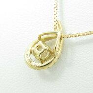 K18YG ダイヤモンドネックレス 0.292ct・E・SI2・GOOD